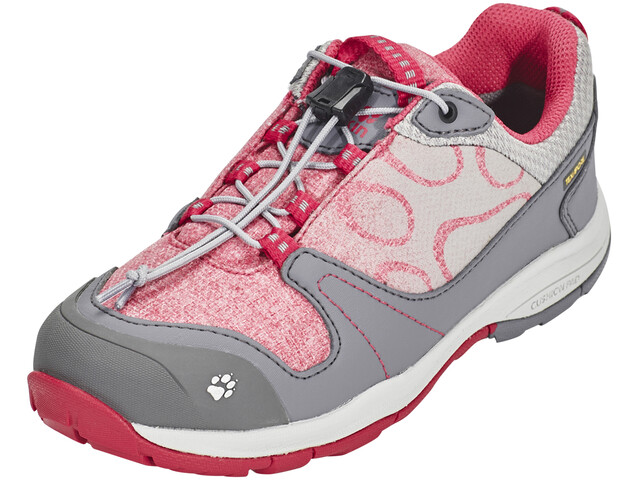 Jack Wolfskin Grivla Texapore - Chaussures Enfant - gris/rose